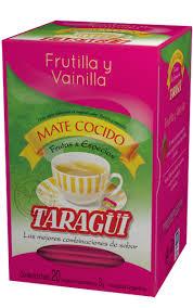 Taragui 20 x 3 g braškė-vanilė matė arbata