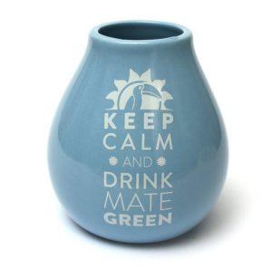Keramikinė kalabasa mėlyna 350 ml